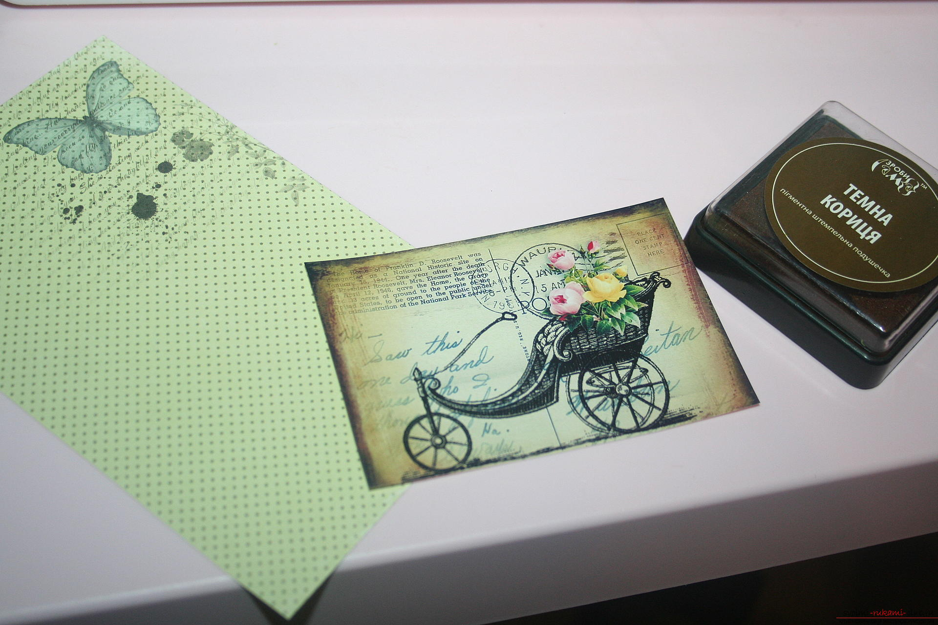 This master class will teach you how to make an original gift for the New Year - scrapbooking notebook. Photo №25