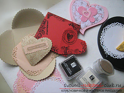 A beautiful stamp for scrapbooking with your own hands. Photo №4