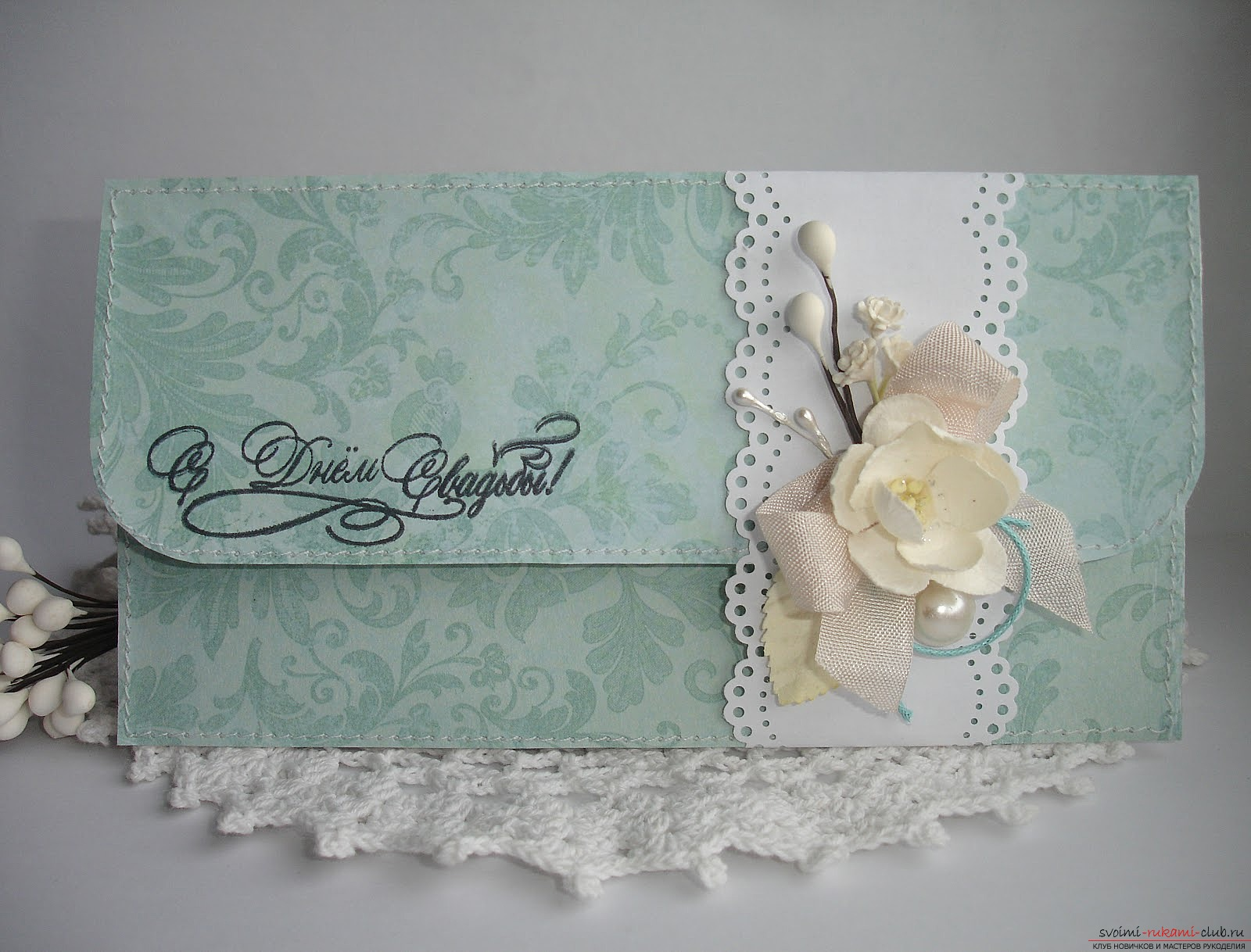 Postcard is an envelope made by own hands. Photos and tips for their implementation .. Photo # 3