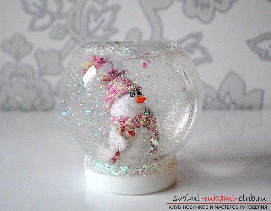 We make a snowman figure from polymer clay - a master class with our own hands. Photo №1