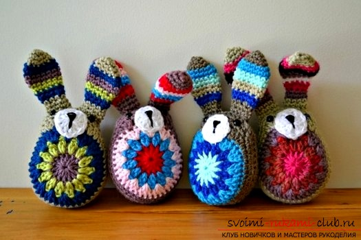 Universal knitted toys for children. Photo №1