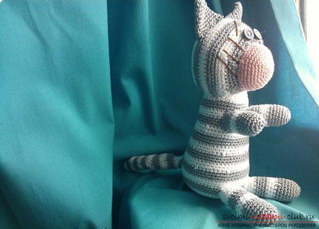 How to tie a crochet in the amigurumi technique with his own hands with a photo and description ?. Photo №6