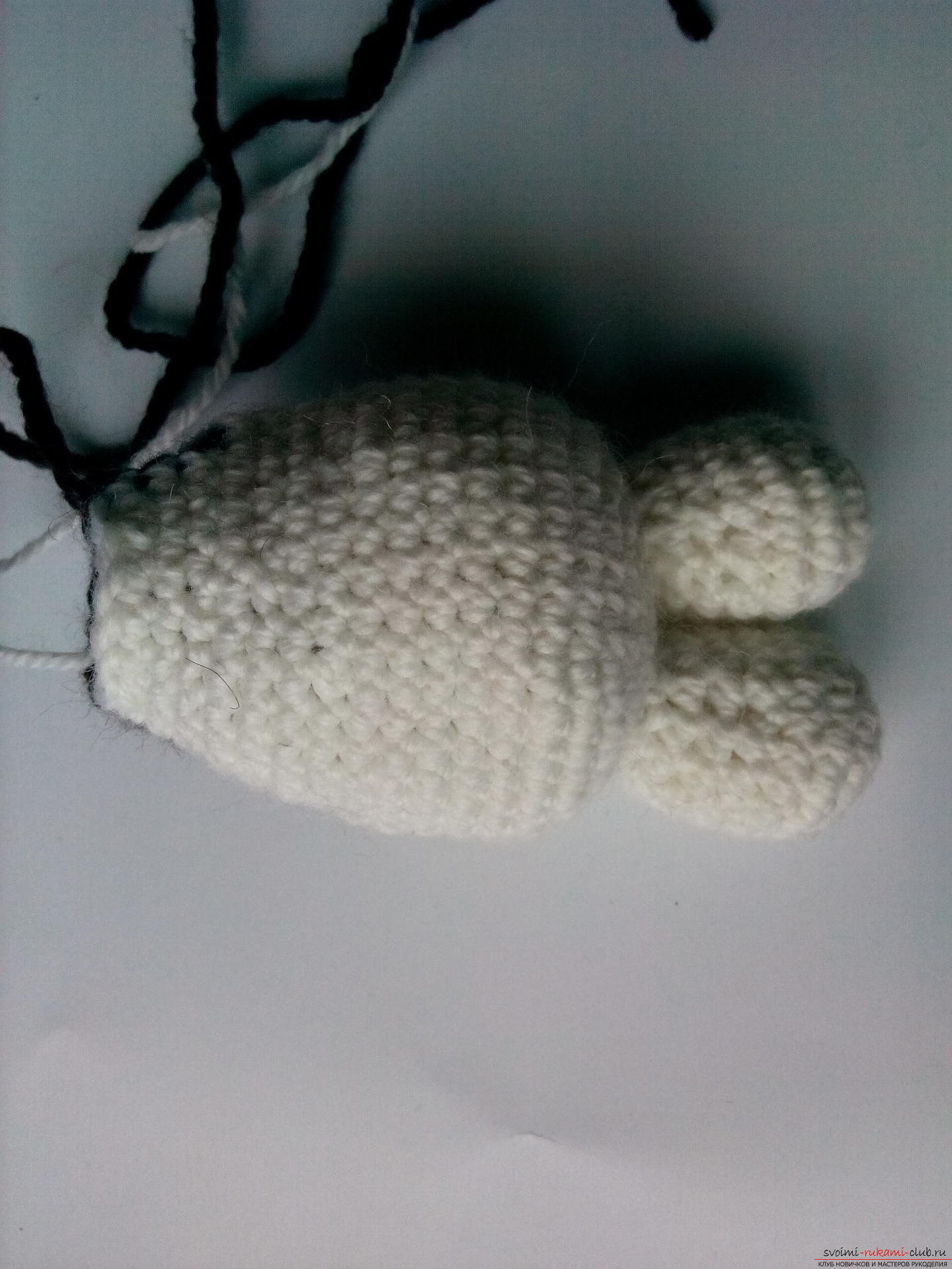We create a knitted dog with a skirt with our own hands - an interesting master class. Picture №10
