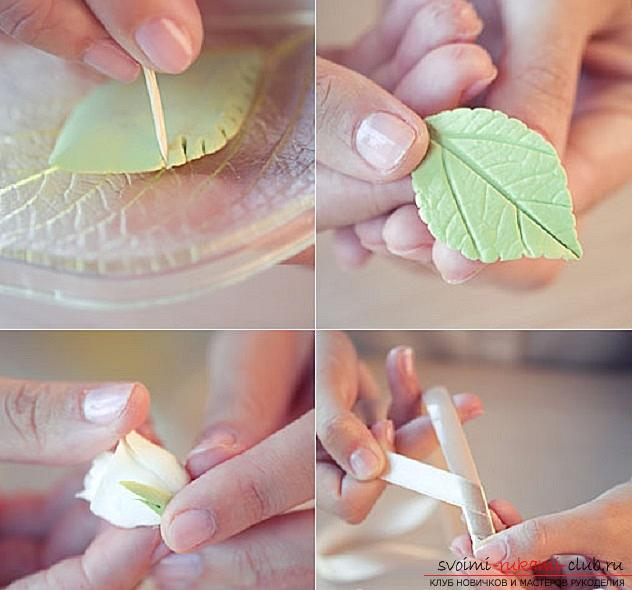How to make your own hair rim with polymer clay hair, master class with a photo .. Photo # 14