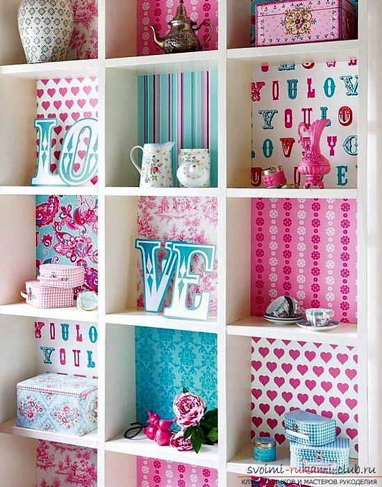 Decor furniture, cabinet decor, how to decorate the closet with your own hands, photo, various decor options .. Picture №3