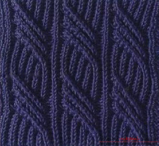 We knit the bag with the Aran pattern according to the scheme. Photo №5