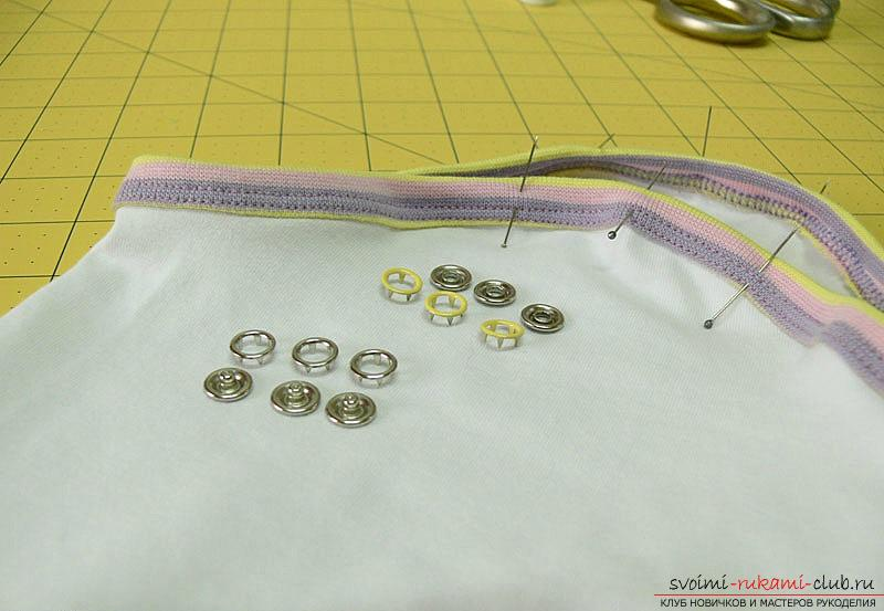 Pattern and sewing body for a newborn baby. Photo number 17
