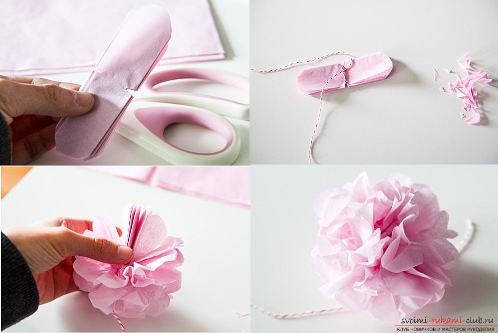 How to make your own hands beautiful and original crafts using kiwing techniques and others, step-by-step photos and instructions for creating paper crafts. Picture №3