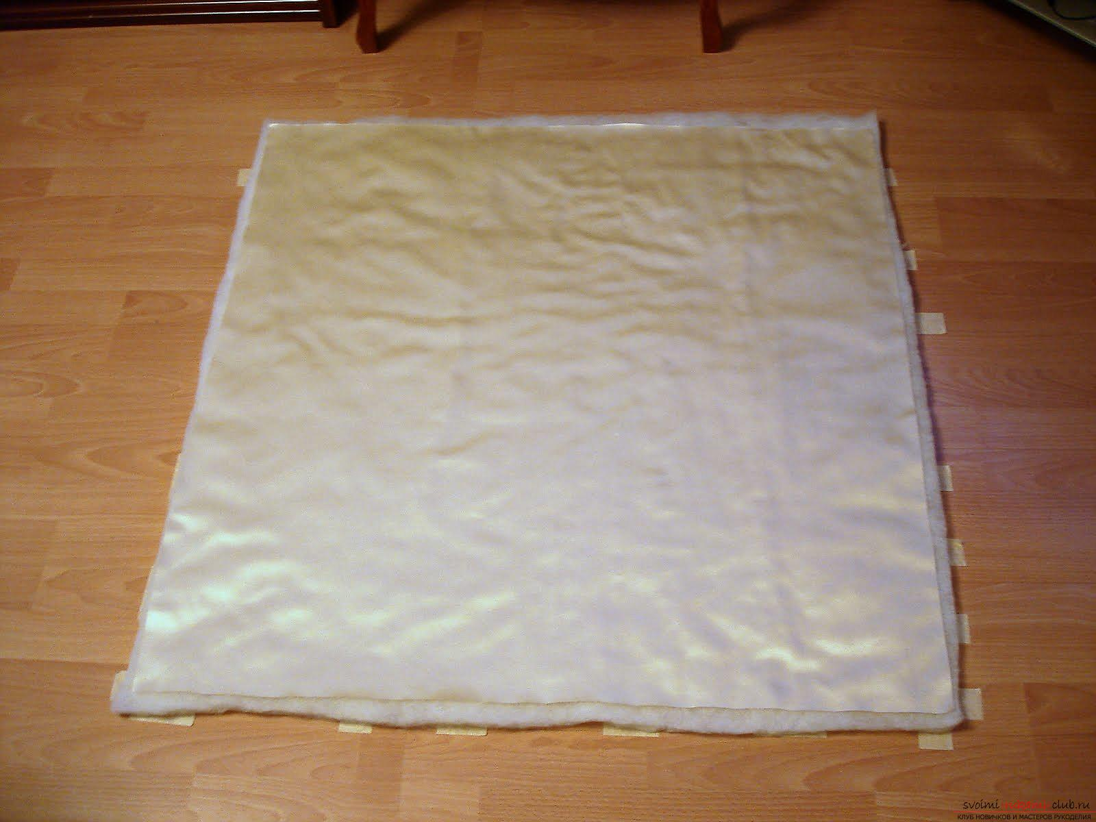 How to sew a beautiful envelope for a newborn baby. Photo # 2