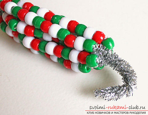 Master classes on weaving various Christmas decorations, photos, charts, description. Photo №6