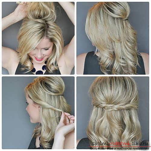 We learn to make fast and beautiful hairstyles with our own hands with a photo. Photo number 15