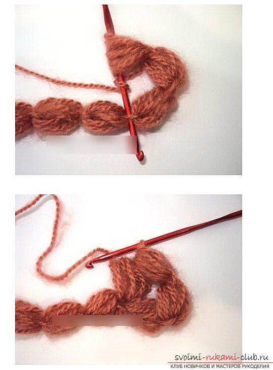 Methods of creating a pattern of crochet and bells - a magnificent pattern by their own hands. Photo №7