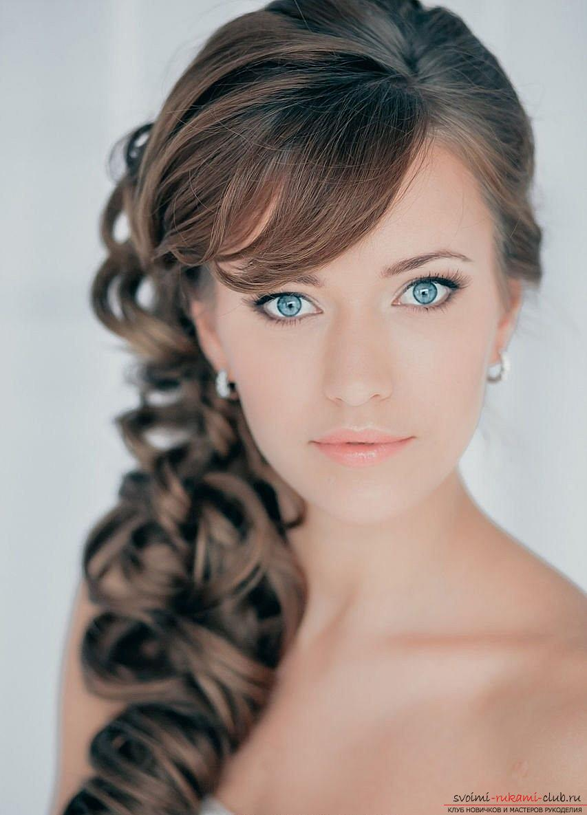 Interesting ideas for creating hairstyles with bangs with your own hands. Photo №7