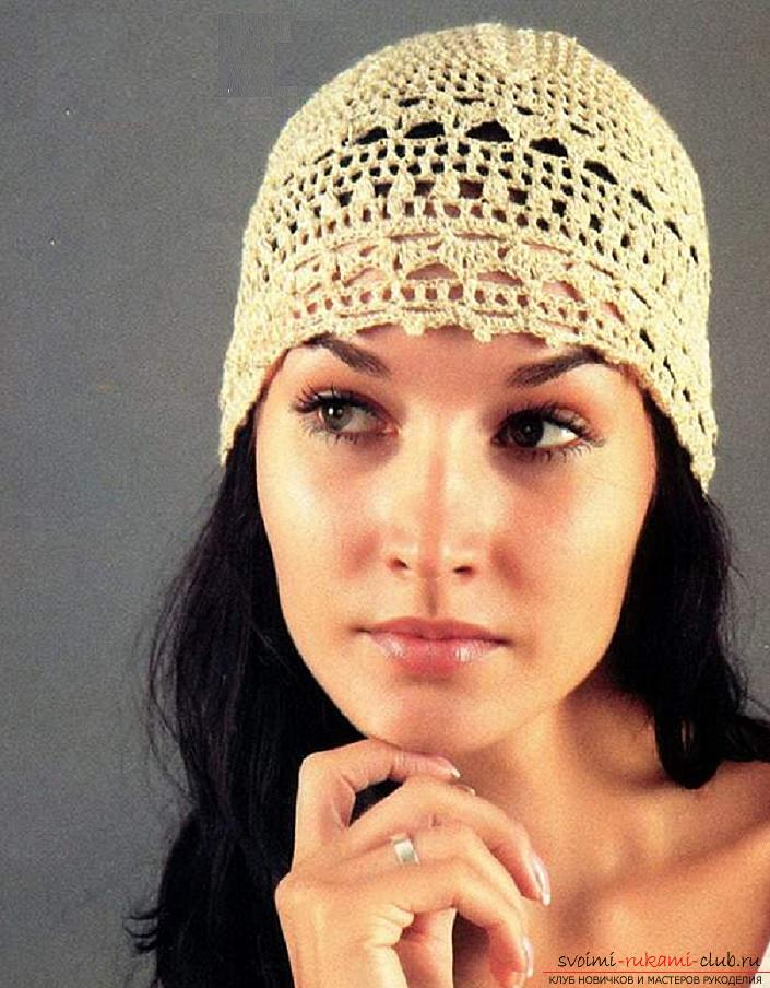 Summer hats for children and adults, crocheted with their own hands crochet with diagrams, descriptions and photos .. Photo # 2
