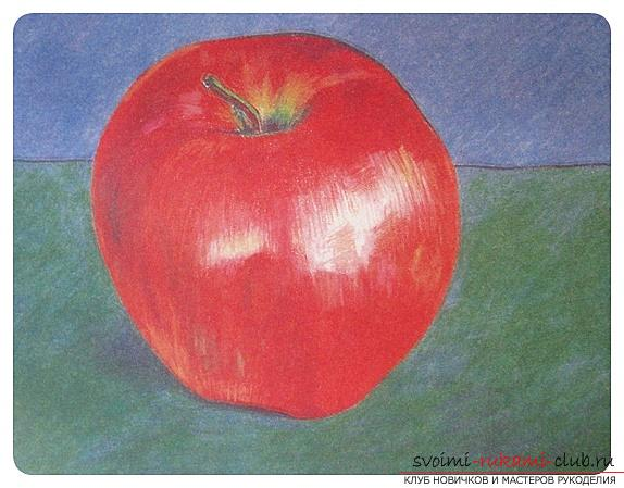 Tinting the picture with colored pencils. Photo №5
