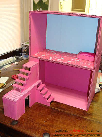 A bright and cozy little house for Barbie's own hands. Photo №6
