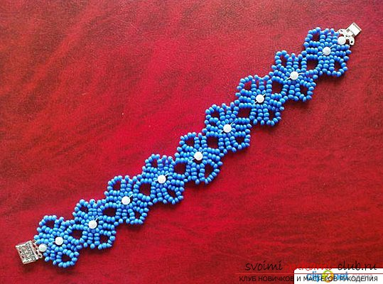 How to make beautiful beaded bracelets for beginners .. Picture №3