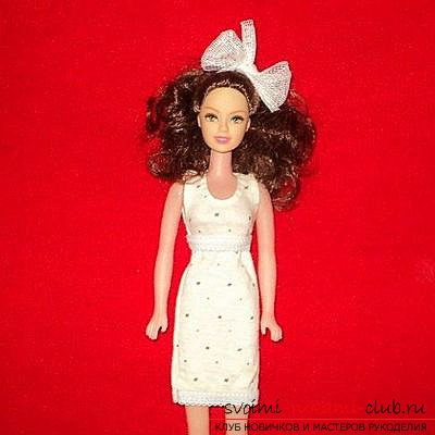 Clothing for dolls, sewn by hand. Puppet clothing for the wardrobe is free .. Picture №2