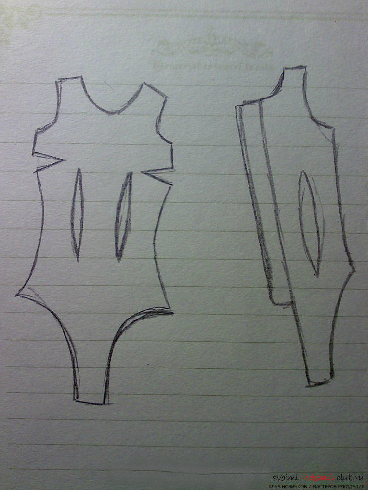Recommendations for building a pattern of clothes for a monster doll by a hackney method .. Photo # 8