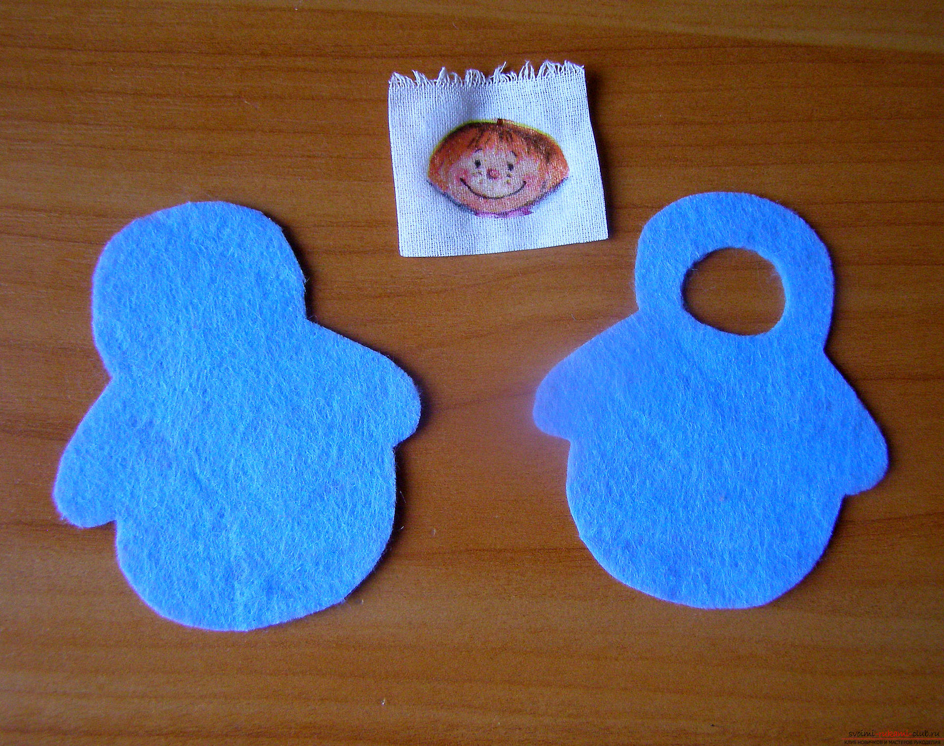 This master class with a pattern will teach you how to make your own felt toys .. Photo # 9