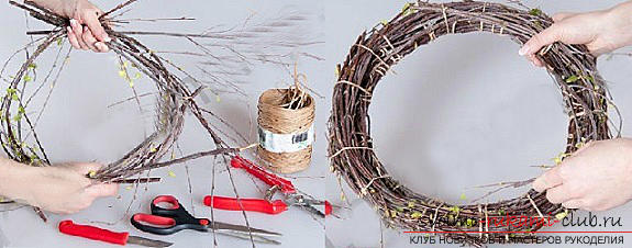 Easter crafts, crafts for the Passoverhands, crafts for Easter for children, how to decorate an Easter egg with their own hands, festive decor, Easter compositions, Easter nadvernye wreaths .. Photo # 23