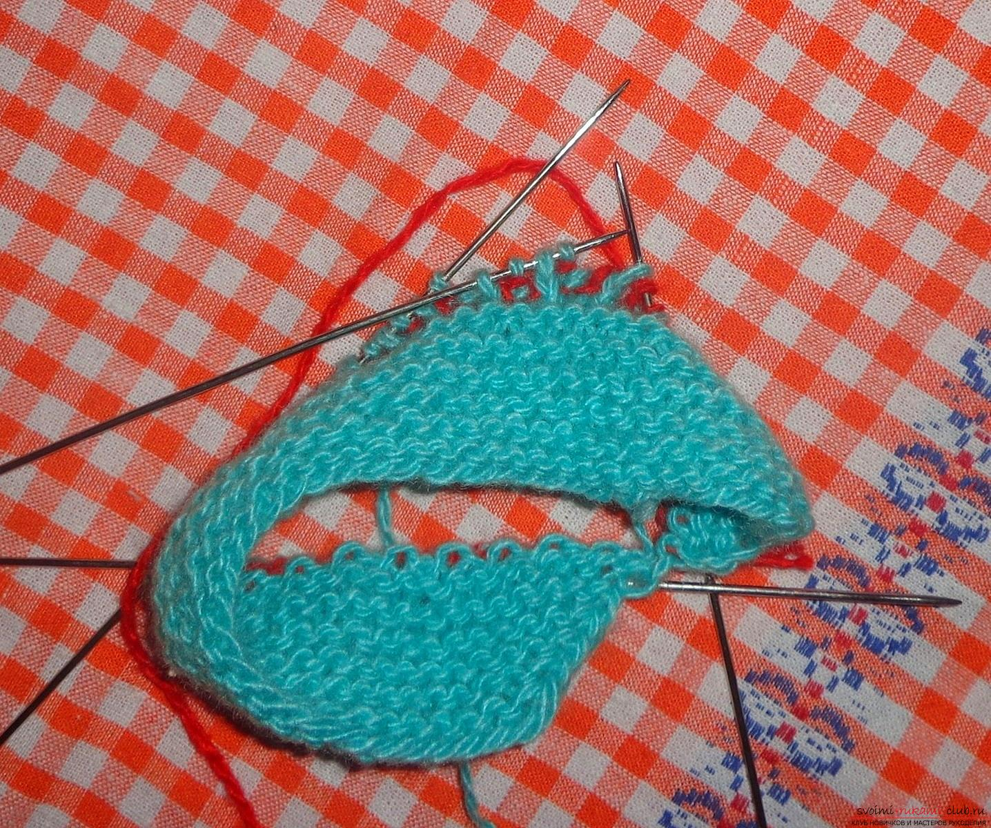 Lesson on knitting pinets with a detailed description of steps and photos. Photo №5