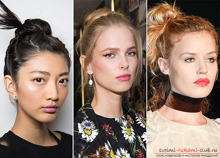 We learn to make fashionable hairstyles for the spring of 2016 with our own hands. Photo number 16