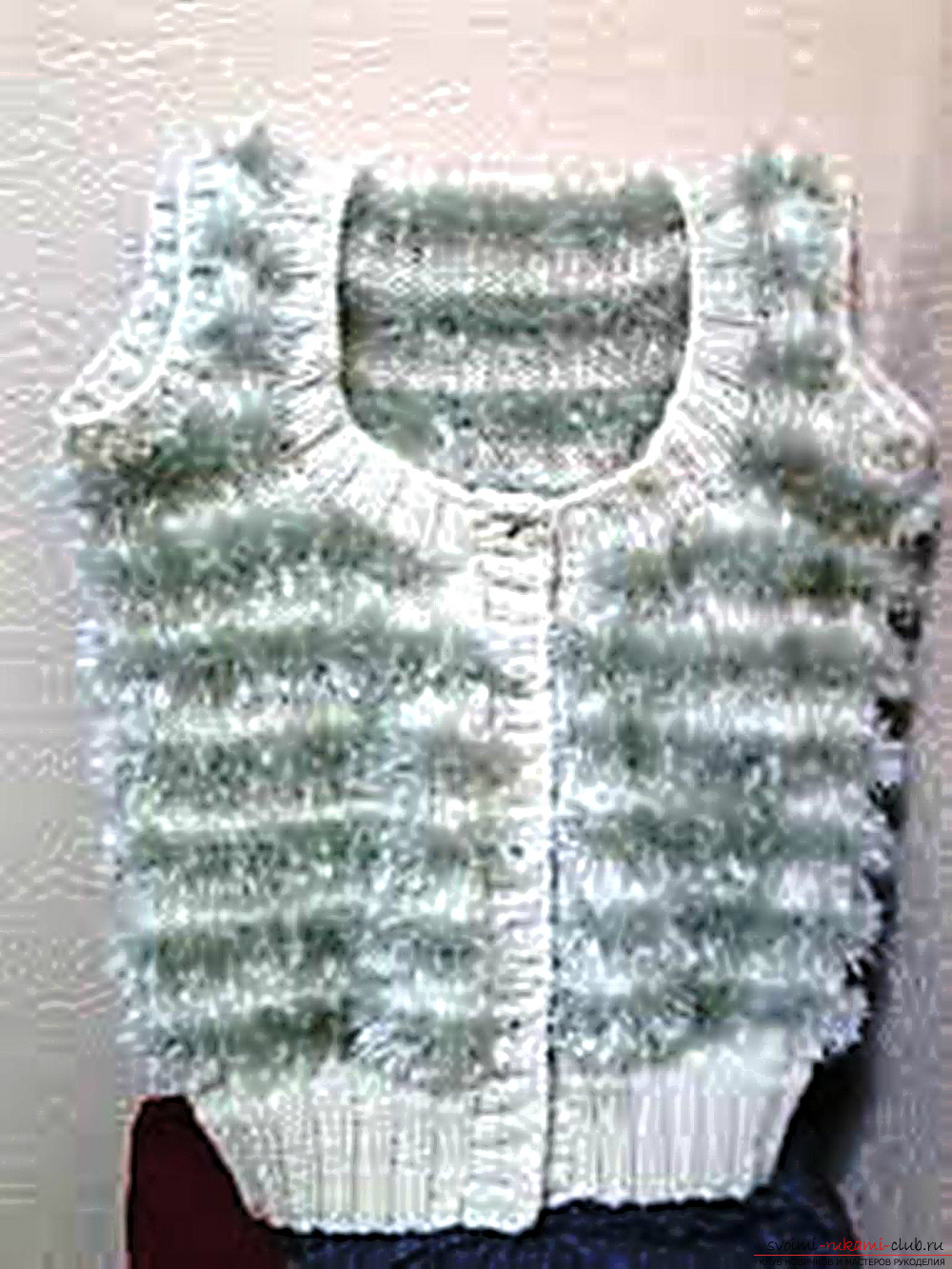 knitted children's vest. Photo №5