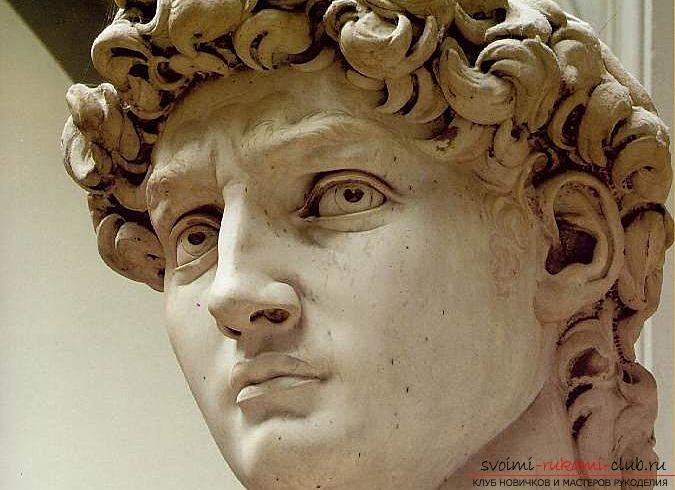 Popular and characteristic features of the style of Michelangelo - sculpture. Photo №1
