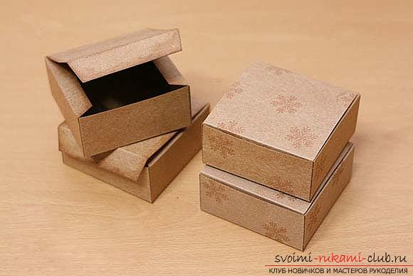 A lesson on making unusual gift wrapping for handmade soaps, tips and tricks .. Photo # 4
