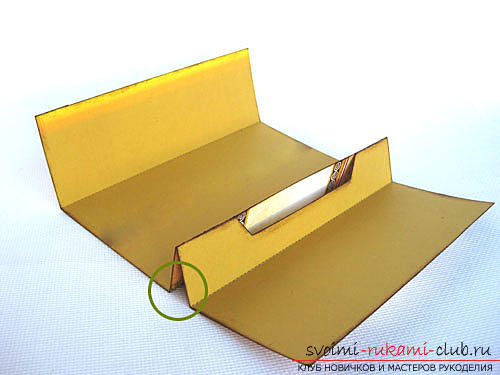 Instructions for the manufacture of the original envelope - stand for the postcard yourself .. Photo №3