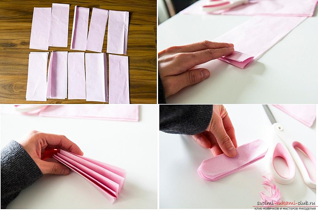 How to make your own hands beautiful and original crafts using kiwing techniques and others, step-by-step photos and instructions for creating paper crafts. Photo # 2