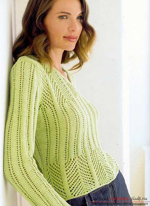 knitted knitted sweater. Photo №1