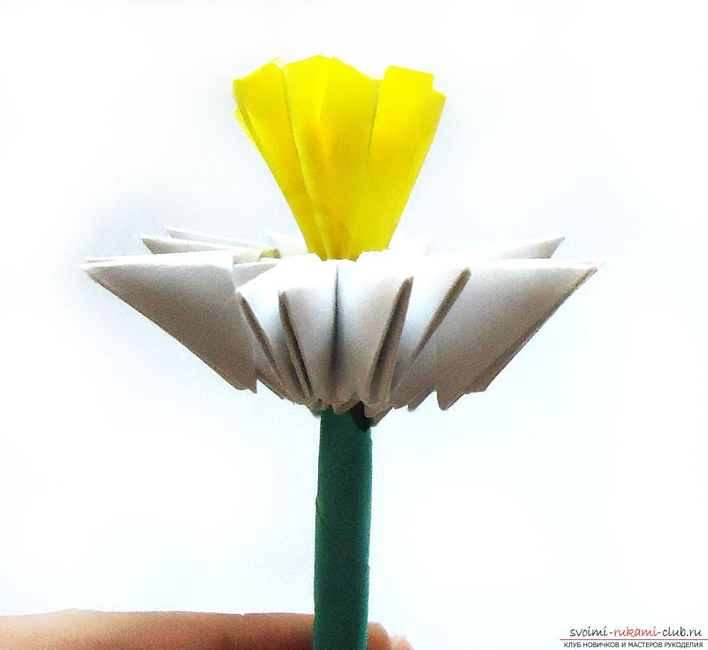 оригами нарцис. Снимка №5