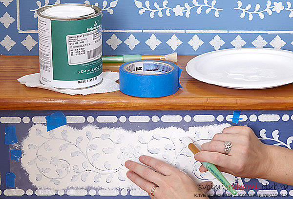 How to decorate your own hands and make a highlight of the interior of ordinary steps, tips and advice .. Photo # 2