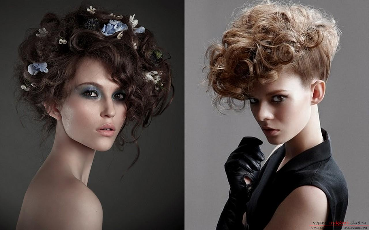 Beautiful hairstyles on long hair are easily created by own hands. Master-class with a phased photo hairstyles will teach you to beautifully style your hair