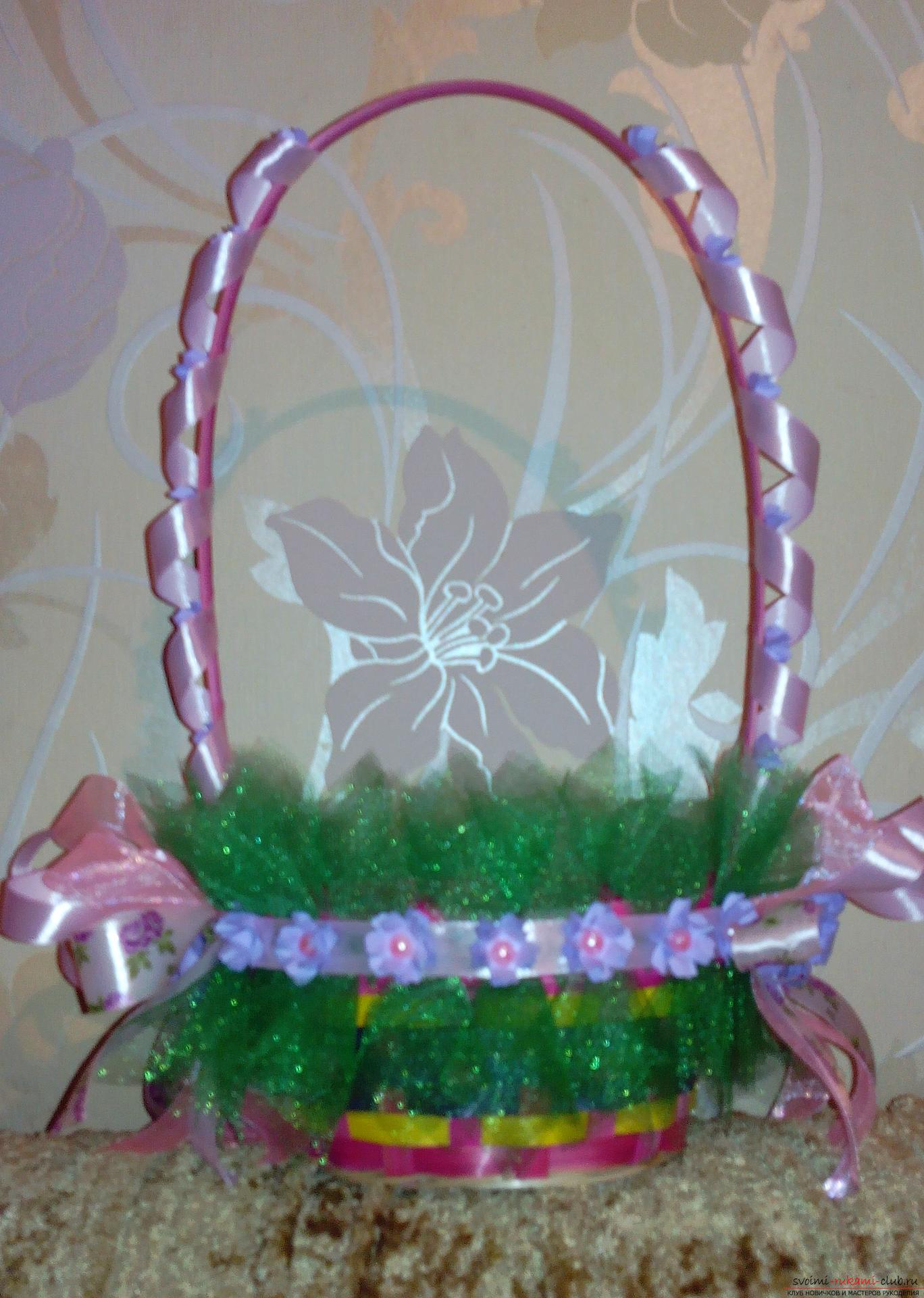Baskets for a gift by March 8. Photo # 2