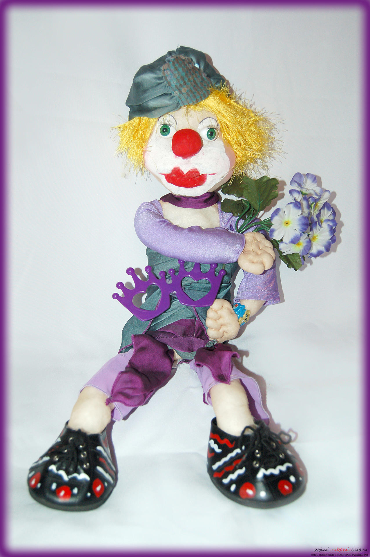 Interior doll: clown. Photo №1