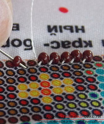 Original beadwork according to the scheme. Picture №3