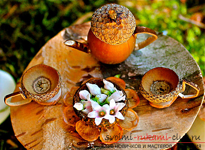 That's what can be made from acorns !. Photo Number 14