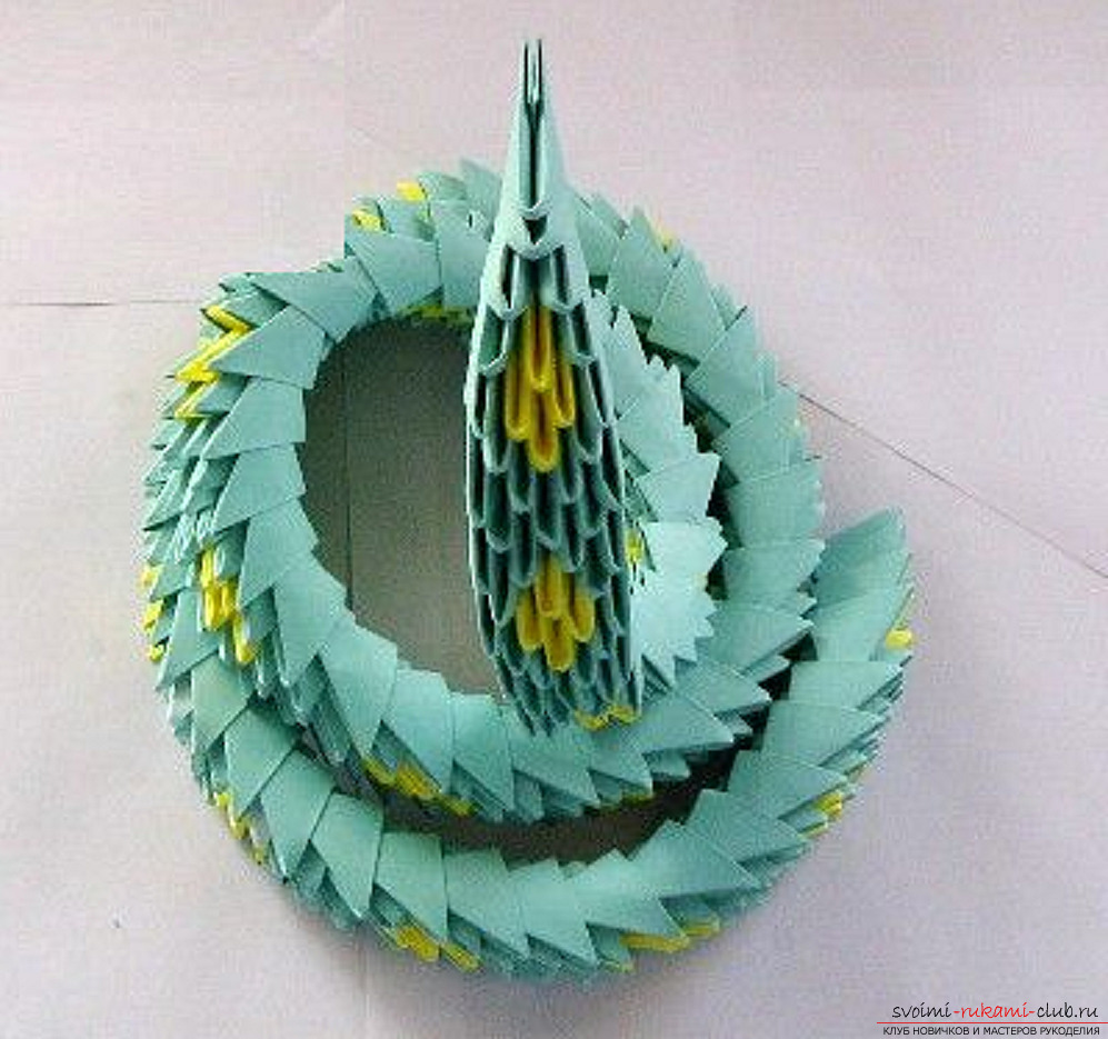 modulaire origami slang. Afbeelding №40