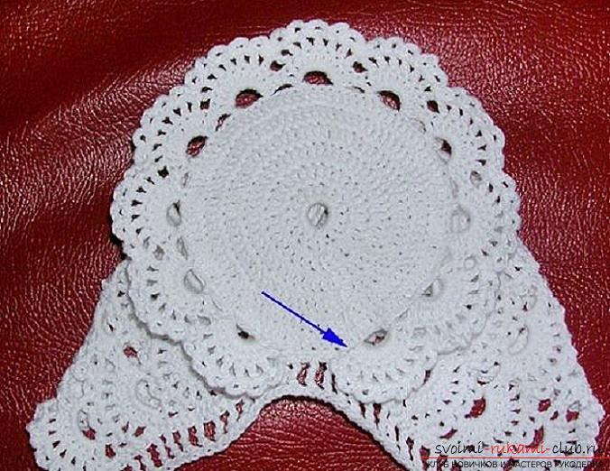 Crochet of beautiful plaids and hats for children up to one year old with diagrams, descriptions and photos .. Photo # 12