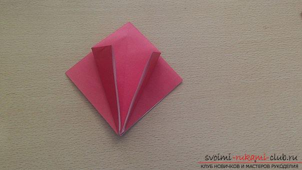 This detailed master-class contains an origami-dragon scheme made of paper, which you can make by yourself. Photo # 10
