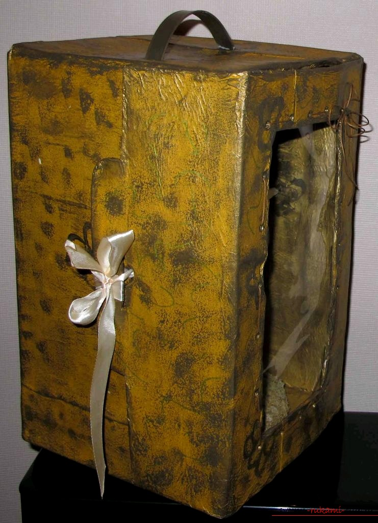 Box for the doll, made by own hands