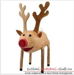 How to make a hand-crafted deer. Photo №1