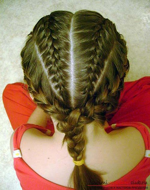 Baby hairstyles for girls for every day. Picture №3