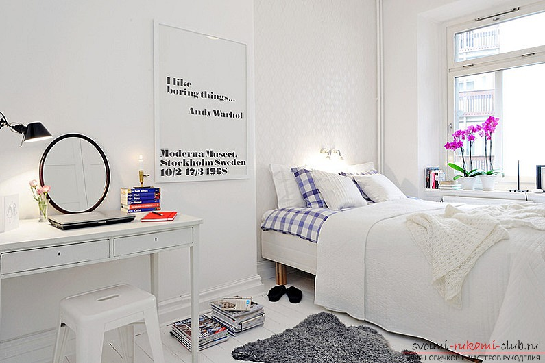 The way to make a Scandinavian interior of the house with your own hands for an apartment? Ways of implementation, ideas and photos .. Photo # 1