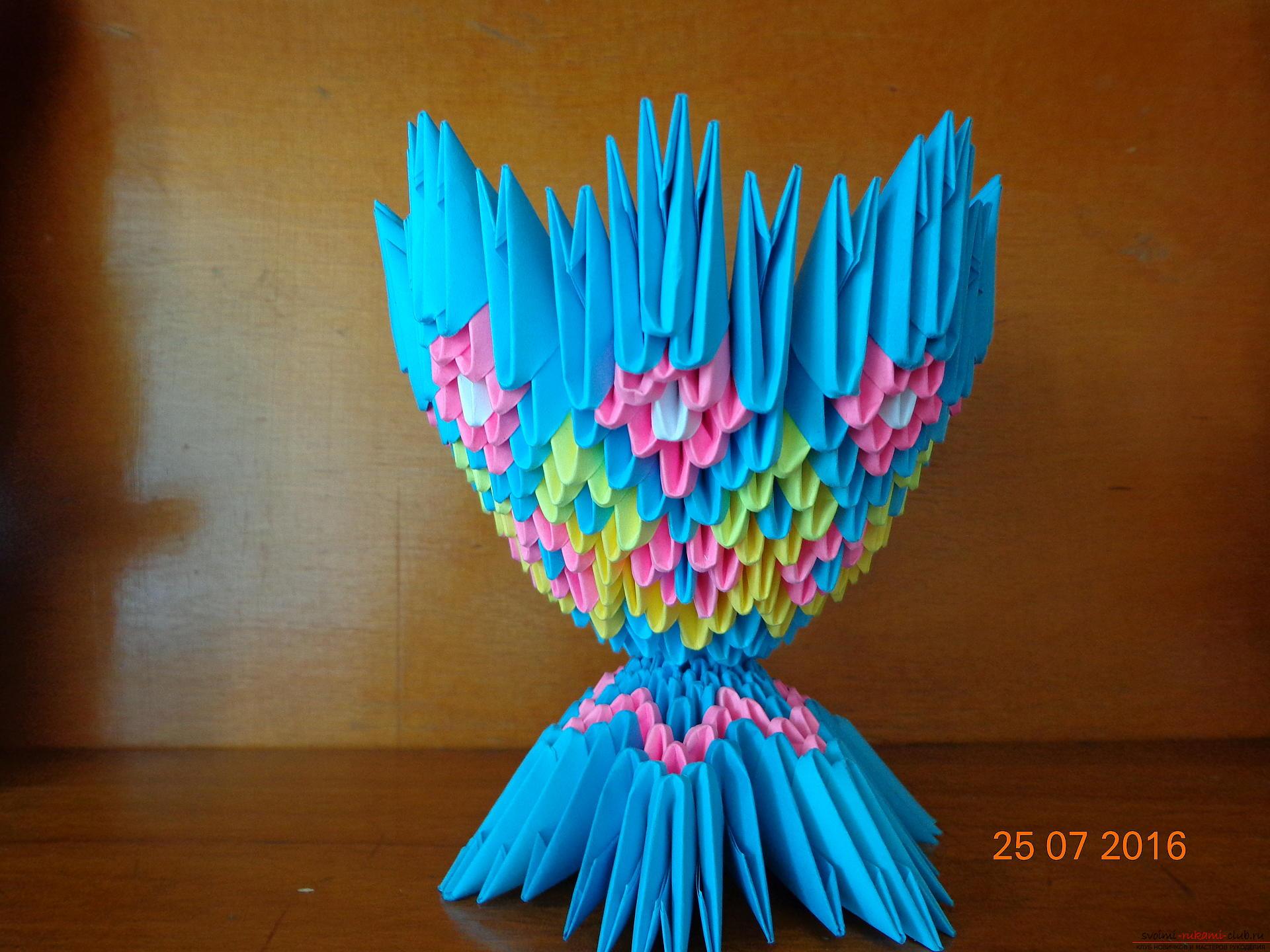 Как сделать модуль для оригами, пошаговое фото, мастер-класс 65