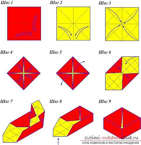 Origami box. Photo №4