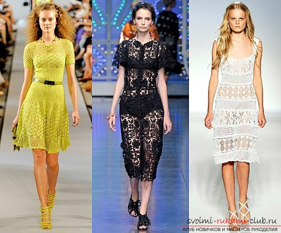 Crocheted clothes made by own hands. Pictures of delicate apparel .. Picture №3